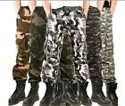 Men's Women's Europe Camouflage Trousers Fr Outdoor Hiking Pants Camo Jeans