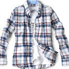 New arrival for Mens casual Dress Plaids & Checks pattern Best White shirts