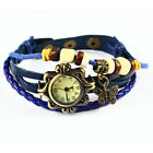 Women&#039;s Ladies Fashion Boho-Chic Handmade Leather Bracelet Watch Butterfly Gift <br/> Best Gift for Christmas ! Cheep Price ! Over 3500+ Sold