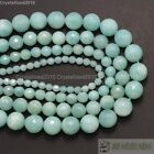 """Natural Amazonite Gemstone Faceted Round Loose Beads 4mm 6mm 8mm 10mm 12mm 16"""""""