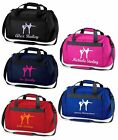 Personalised Printed Taekwondo Holdall / Bag, Various Bag and Print Colours