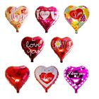 """Wholesale 18"""" Cute Valentines Day Heart Shaped Helium Foil Balloon Party Love"""