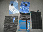 HURLEY Men's Board Short,Many styles & Colors, New with Tags,MSRP-$49.50-$59.50