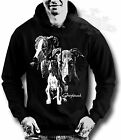 GREYHOUND,DOG BREED, SILHOUETTE IMAGE,UNISEX HOODIE all sizes available