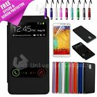 Flip S View Leather Case Cover For Samsung Galaxy Note 3 N9000 + Film & Stylus