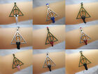 Fashion Harry Potter Deathly Hallows Charms Wax String Suede Friendship Bracelet