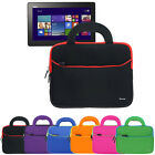 Tablet Neoprene Portfolio Sleeve Handle Case Bag For Asus Transformer Book T100