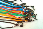 Glasses NECK CORD LANYARD GLASSES STRAP SPECTACLE HOLDER choose from 8 colours