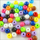 Opaque Mixed Acrylic Plastic Round Ball Spacer Beads 6mm 8mm 10mm G1-G3