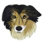 Beautiful Dog Faces Embroidered Iron On Patches (A- B )
