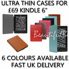 """ULTRA THIN PU LEATHER FLOWERY CASE COVER FOR KINDLE 4 / 5 WI-FI 6"""""""