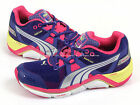 Puma Faas 1000 Wn's Purple-Blue-Lime-Silver Sportstyle Running Shoes 187046 01