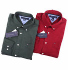 Tommy Hilfiger Men Long Sleeve Button Down Classic Fit Casual Shirt - $0 Ship