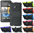NEW GRENADE GRIP RUGGED TPU SKIN HARD CASE COVER STAND FOR HTC ONE M7 PHONE