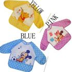 Baby Bibs Waterproof Music Cartoon Rice Clothing Anti-dressing Sleeves Overalls