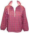 Deal Clothing Ladies Smock - Pink Check Fisherman Smock - Canvas - New