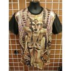 Sublimation Spinx Head image short sleeve T-SHIRT Egyptian King Tut T shirt M-2