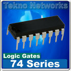 74 Series logic gate IC's DIP Package - 4pcs [ BIN#BD4 ]
