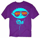 Family Guy Stewie With Headphones Sunglasses Adult PurpleT Shirt Licensed NWOT