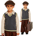 CHILDREN'S EVACUEE BOY WORLD WAR 2 1940s ORPHAN FANCY DRESS COSTUME OUTFIT