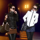Lady Pretty Winter Warm Turtleneck Down Coats Wadded Cotton-padded Jackets UK LO