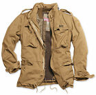 Surplus Vintage Regiment M65 Jacket Washed Classic Parka Us Field Coyote