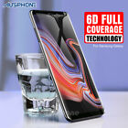 Galaxy Note 8 S8 Plus 4D Full Cover Tempered Glass Screen Protector for Samsung