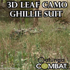 NEW LEAF GHILLIE 3D BOW, SNIPER TACTICAL 4 HUNTING PAINTBALL S/M/L YOWIE SUIT