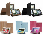 """Slim PU Leather Folio Case Stand Cover For Lenovo IdeaTab S6000 10.1"""" Tablet"""