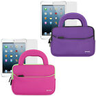 Soft Neoprene Sleeve Handle Case Bag+Screen Protector For Apple iPad Mini 3/2/1