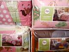 Circo Bed Set Twin:Star Power Sports Build It Purple Mix Match Rugby Dots NEW