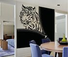 Vinyl Wall Decal Sticker Tiger Zipper OS_AA1364s 65W x 60H