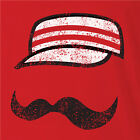 Cincinnati Reds MR REDLEGS t-shirt baseball jersey funny mustache mister cincy