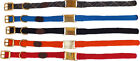 Mendota Handmade in USA, Durable Soft Small dog collars with built in ID Tag