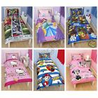 Kids Disney and Character Single Duvet Covers - Children's Bedding Sets