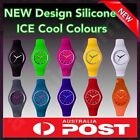 NEW UNISEX ICE COOL COLOUR WATCH LADIES MENS CHILDRENS TIME COLOR WRIST WATCH!!!