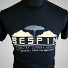 Cloud City Movie Themed Retro T Shirt Bespin Empire Strikes Back Star Wars Black