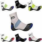 3 Pairs of More Mile London Sports Ankle Cushioned Running Socks - Unisex