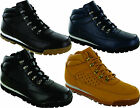 MENS BOYS HIKING WALKING TRAIL CASUAL COMFY LACE UP WINTER ANKLE BOOT SIZE 6-12