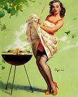 Vintage 1950's Pin Up Girl 38  Poster A3/A2 Print