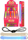 Neon Willy Glow Sticks Necklace Assorted Colours Hen Party Accessories Novelty