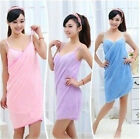 New Sexy Women Salon SPA Comfortable Cotton Fiber Absorbent Bath Towel Bathrobe