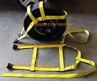 Car Tire Basket Straps Adjustable Tow Dolly DEMCO Wheel Net Set Flat Hook Yx2