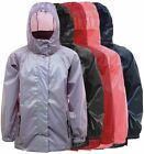 Boys Girls Cagoule Waterproof Raincoat Jacket - Pouch Included
