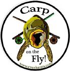 FLY FISHING BUMPER STICKERS Carp on the Fly! 5