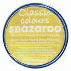Snazaroo 18ml PALE YELLOW FACE PAINT Fancy Dress Party Stage MakeUp