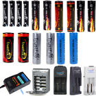 TrustFire 26650/18650/14500/10440 AAA Torch Rechargeable Li-Ion Battery &Charger