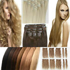 8pcs Full Head Clip In Hair Extension UK s-noilite hair woman lady favored style