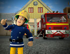 Fireman Sam - Edible Icing Image - Birthday Cake Topper Decoration