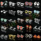 CUFFLINKS TRANSFORMERS SPIDERMAN STAR TREK WARS IRON MAN FLASH on eBay